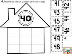 Fantásticas casitas interactivas de números | Educación Primaria