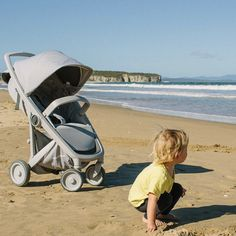 Are you taking a sandy stroll today? We will get you through all types of terrain🙌🏼 Baby Strollers, Take That, Children, Green, Baby Prams, Young Children, Kids, Strollers, Children's Comics