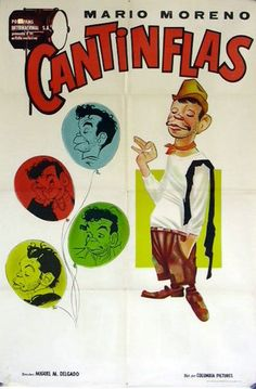 """CANTINFLAS"" MOVIE POSTER - ""FESTIVAL DE CANTINFLAS"" MOVIE POSTER"