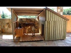 indoor dog houses dog house with porch plans indoor dog house furniture Dog House DIY Ideas Indoor Outdoor Design PHOTOS dog house ideas for. Dog House With Porch, Big Dog House, Wooden Dog House, Large Dog House Plans, Warm Dog House, Extra Large Dog House, Pallet Dog House, Outside Dog Houses, Outside Dogs
