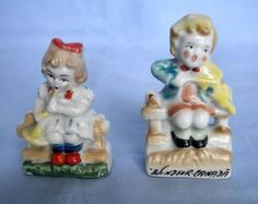 Hand Painted Occupied Japan Music Children Figurines | eBay