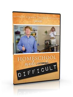 Dwane has almost 15 years experience frustrating his wife as she homeschooled their kids. He's taken what he learned from that and created his own series.
