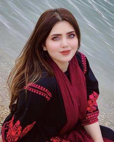 Afghan Clothes, Afghan Dresses, Afghanistan Culture, Afghan Girl, Stylish Girl Pic, Priyanka Chopra, Leather Jacket, Red Leather, Bomber Jacket