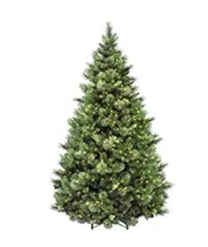 National Tree Foot Carolina Pine Tree with Flocked Cones and 750 Clear Lights Flocked Trees, Pine Tree, Yule, Flocking, How To Dry Basil, Christmas Tree, Herbs, Lights, Holiday Decor