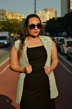 Look do Dia: Boss Lady.  Colete: By Clô  Outfit of the day, look of the day, work outfit, roupas para entrevista, roupas para trabalhar, look social, colete