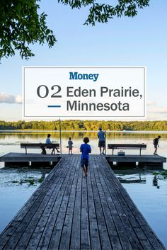 Eden Prairie, Minnesota lands #2 on our list. We love that the city contains 37 parks, 17 lakes, and 200 miles of sidewalks and trails.