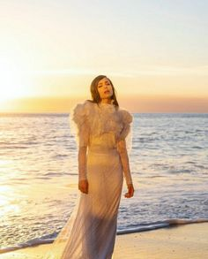 Sophia Carson, Beautiful Celebrities, True Beauty, Two Piece Skirt Set, High Neck Dress, Celebs, Singer, Actresses, Actors