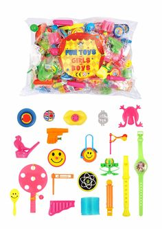 Shop Now extrabits.co.uk Assorted Party Toy Bags