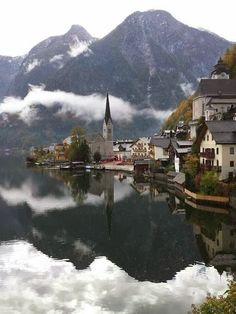 Hallstatt, Alps, Austria.
