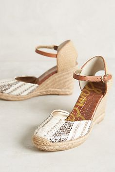 Sam Edelman Harmony Wedges #anthropologie