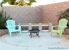 Make a Cinderblock Bench