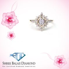 Add some sparkle to your finger with this dazzling diamond ring. 14K gold with Belgium cut diamond.