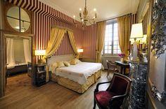 La Chambre Récamier - chateau hôtel de Bourron Marlotte
