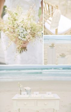 beach weddings...