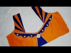 latest patch work and mirror work designer blouse - YouTube