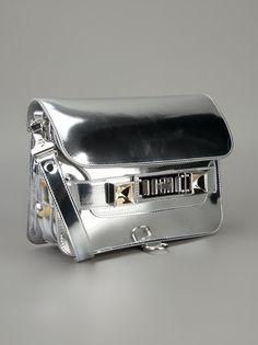 Proenza Schouler - metallic Ps11 shoulder bag 3