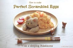 I will not be making this, but looks so cute: Sleeping bear with Scrambled Eggs blanket