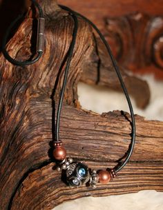 Awesome Bali bead necklace by WenJammerCreations on Etsy, $14.00