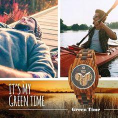 Colora la tua giornata.  #GreenTime #MyGreenTime