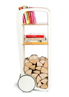 Fleimio Trolley (white). Furniture with wheels.