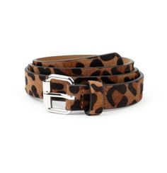 I will wear this belt with everything. (Unless I'm wearing leopard-print shoes, which is also pretty likely.)