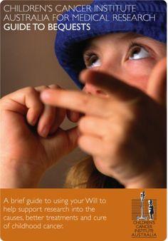 SOFII · Children's Cancer Institute of Australia: bequest conversion pack