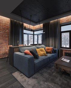 Different Interior Decorating Styles For a Living Room Apartment Interior, Home Interior, Interior Architecture, Interior Decorating, Design Loft, Home Room Design, Living Room Designs, House Design, Interior Design Career
