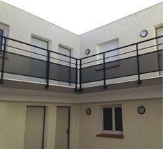 Equipement maison tapis gardes corps barri re promo for Parement aluminium exterieur
