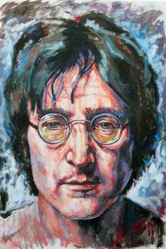 John Lennon portrait  http://tachipintor.com/obra/retratos/