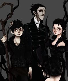 Nightmare family -Pitch, Elsa and Jack- by NoodleSayYeah on deviantART