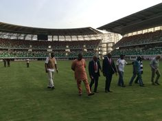 NFF Inspection Team Happy With Uyo Stadium Pitch