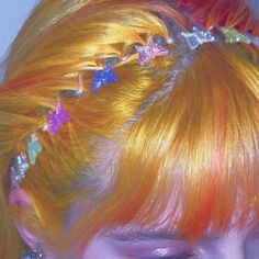Hair Inspo, Hair Inspiration, Manic Pixie Dream Girl, Fairy Hair, Aesthetic Hair, Indie Kids, Looks Cool, Aesthetic Pictures, Ethereal