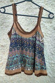 Fabulous Crochet a Little Black Crochet Dress Ideas. Georgeous Crochet a Little Black Crochet Dress Ideas. Crochet Yoke, Crochet Fabric, Crochet Collar, Crochet Bikini, Black Crochet Dress, Crochet Bodycon Dresses, Ibiza Fashion, Women's Summer Fashion, Crochet Clothes
