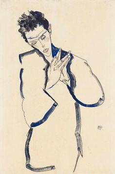 Egon Schiele Self Portraits
