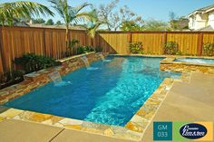 Geometric #swimming #pools are traditional and never go out of style.