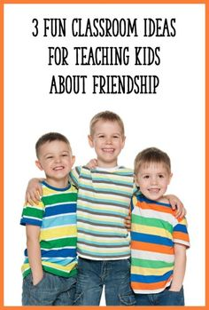 Love these ideas for teaching kids about friendship and positive social skills! The friendship jar, popsicle stick puppets, and friendship book are must-try activities for PreK, Kindergarten, or first grade. (Must Try Activities) Kindergarten Teachers, Kindergarten Activities, Classroom Activities, Preschool Friendship Activities, Classroom Ideas, Preschool Lessons, Toddler Preschool, Preschool Ideas, Teaching Social Skills