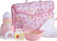 Meal Time Play Set Corolle Baby Doll Accessories   eBay