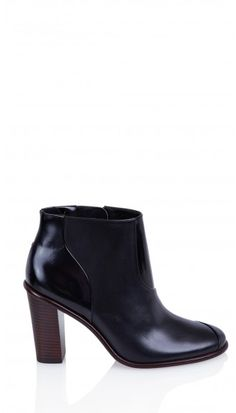 The perfect black ankle book is a requisite of every fall wardrobe. Tibi Naomi Boots.