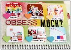 #papercraft #scrapbook #layout    Smash Book