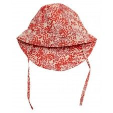 Mini A Ture Thia B Baby Sun Hat in Dubbery Rose #adorable #babywear #floral