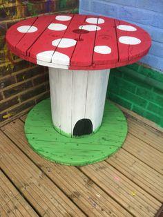 Mushroom reel not finished