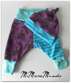 MiMaraMundo: baby pants with pattern and tutorial!