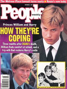 DECEMBER 1997    With their mother gone, Prince Charles – who was so frequently criticized for his cold parenting style – focuses his attention on William and Harry.