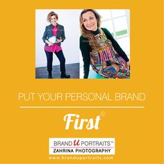 Put your personal brand - FIRST! http://www.BrandUPortraits.com