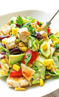 Healthy Salad Recipes, Diet Recipes, Food Hacks, Food Inspiration, Good Food, Food Porn, Food And Drink, Healthy Eating, Lunch