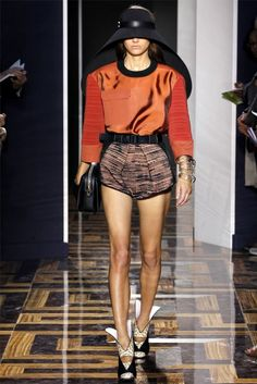 Balenciaga Spring 2012 | Paris Fashion Week