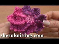 Stuffed Square Button Crochet Tutorial 3 Part 1 of 2 Crochet Increase Stitches - YouTube