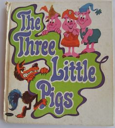 ''The Three Little Pigs'' Tell A Tale Vintage Whitman, ill.Charles Bracke | eBay