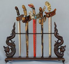 Keris. Traditional weapon of olden day Malays. Would look awesome hanging on my wall.