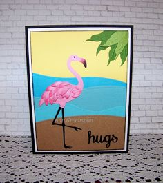 Ann Greenspan's Crafts: Flamingo Hugs